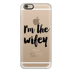 iPhone 6 Plus/6/5/5s/5c Case - I'm the wifey ($40) ❤ liked on Polyvore featuring accessories, tech accessories, phone cases, phones, cases, fillers, iphone case, iphone cover case and apple iphone cases