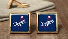 Los Angeles Dodgers Cufflinks Baseball Cuff by OurCufflinkShop Dodgers Fan, Los Angeles Dodgers, Gifts For Father, Anniversary Gifts, Cufflinks, Suit, Baseball, Beautiful, Birthday Presents