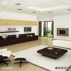 Salones. Mobiliario personalizado para salón. Si tienes un espacio que deseas cambiar sólo tienes que consultarnos y te ayudaremos.  http://madeandin.com/salones.html
