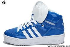 Best Gift Adidas Attitude Logo Double Heart Tongue Shoes Dark Blue For Sale