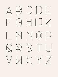 minimalist type