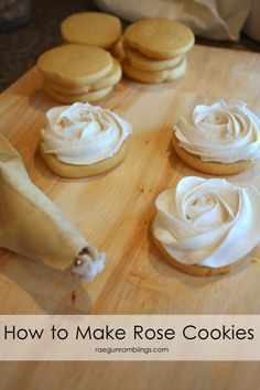 The trick to getting perfect rosettes out of frosting. Rae Gun Ramblings