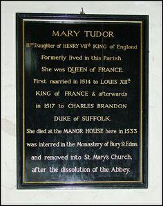 Mary Tudor King Henry, Henry Viii, Charles Brandon, Mary Tudor, St Margaret, Tudor History, Princess Mary, British Isles, Princesses