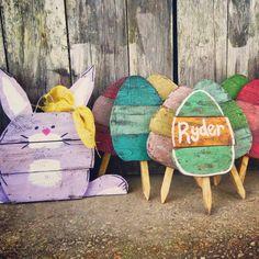 Easter Decoration Easter Kids Easter Yard art by PaePaesPlace