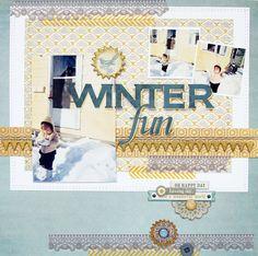 ~winter fun~ - Scrapbook.com