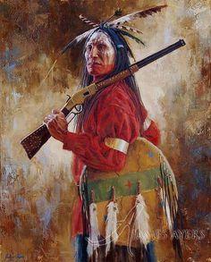 Воин союза лакота