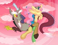 Discord and Fluttershy