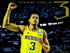 Thank you Trey Burke for 2 awesome years.....you will be missed but will always be a Wolverine!  Best of luck and GO BLUE!!!
