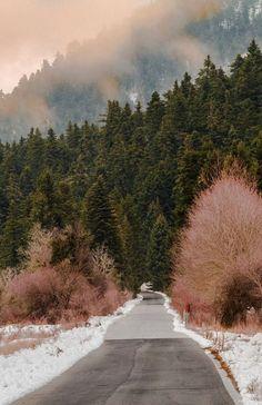 Road in Menalon mountain, Arcadia, Greece... breathtaking views!!! | by ARCADIAimages