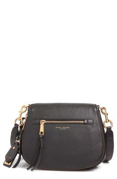 MARC JACOBS MARC JACOBS Recruit Nomad Pebbled Leather Crossbody Bag available at #Nordstrom
