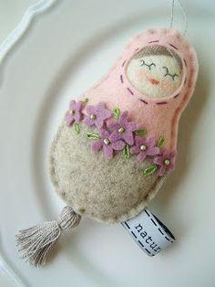 naturalmente: A tavaszi kis ibolyák ihlették