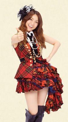 Carte Idole J-pop Yuko Oshima AKB48  !!!