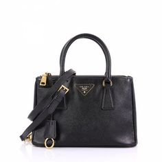 e98ad81f295d Double leather tote Prada Michael Kors Hamilton, Prada