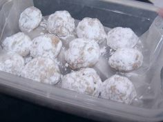 AUTHENTIC MEXICAN DESSERTS RECIPES IMAGES | these mexican wedding cookies also called mexican wedding cakes are a ...