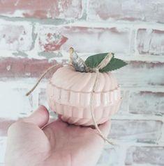 repurposed jello mold pumpkins Mold Spray, Vintage Jello Molds, White Spray Paint, Porch Lighting, Jute Twine, Craft Gifts, Silk Flowers, Neutral Colors, Fall Decor