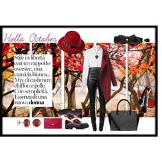 """""""Welcome October"""" by safiamode on Polyvore"""