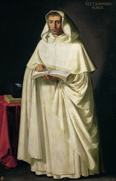 Francisco de Zurbarán Fray Jerónimo Pérez ca. 1632-1634 Oil on canvas, 193 x 122 cm Inv. 667 Madrid, Museo de la Real Academia de Bellas Art...