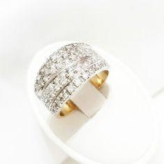 Fascia in Oro 18kt con Diamanti naturali 0.60 kt  #gioielleriacentroro #gioielli #solitario #anello #Natale14 #anellofidanzamento #fidanzamento #promessa #diamante #ring #diamonds #promise #gems #saffhire #ruby #veretta #gemston #store #ebay #pendant #regalidinatale #Christmas14 #store