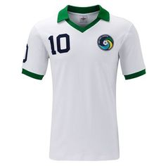 98871aa58 New York Cosmos 1977 PELE  10 Retro Shirt by Umbro - £34.99 Retro Football