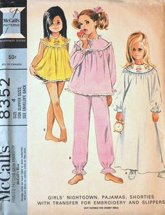 McCall's 8352 © 1966.  Thought by some experts to be an unmarked Helen Lee design.