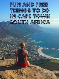 Fun and Free Things to do in Cape Town, South Africa. Because we could all use a little free.
