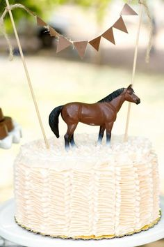 A Vintage Cowboy and Cowgirl Western Themed party for five year old Twins by Jackie from Jack and Kate Horse Theme Birthday Party, 2 Birthday, Horse Party, Cowgirl Birthday, Cowgirl Party, Cowboy And Cowgirl, Boy Birthday Parties, Cowgirl Cakes, Horse Cake