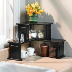 Corner Counter Shelf.
