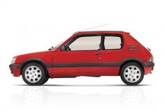 Peugeot 205 GTi, the car that saved peugeot... i'd love to have one