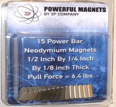Power Bars, Neodymium Magnets, Strength, Delicate, Pure Products, Electric Power