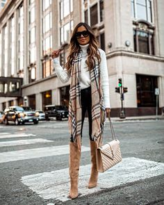 5 Trendy Fall Outfits with Street Styles Trendy Fall Outfits, Casual Winter Outfits, Winter Fashion Outfits, Look Fashion, Stylish Outfits, Autumn Fashion, Classy Winter Fashion, New York Winter Fashion, Winter Ootd