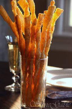 Parmesan Bread Sticks