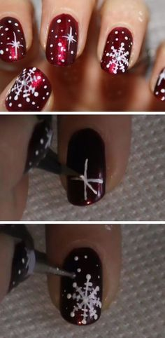 Looking for some super cute and creative ways to bring on the holiday spirit with a seasonal nail design this year? Look no further! Here are 17 winter nail designs worth trying. Source: Nailstorming Source: Watch Out Ladies   Source: Pinterest  Source: Fairly Charming Source: Instagram- @tina_oceannails Source: Lovika Source: Pinterest Source: Instagram - @carlysisoka Source: Soutra So...