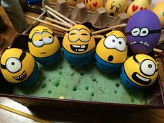 Minions Easter Eggs! @borotrn