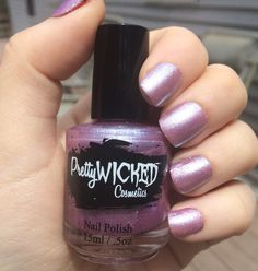 Hey, I found this really awesome Etsy listing at https://www.etsy.com/listing/293023219/lilac-shimmer-nail-polish-penelope