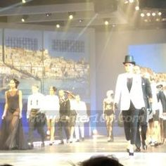 Grace Woodward and Henry Holland hosted the show, each of course looking beautiful. Clothes Show Live the style performance in the Suzuki theatre.