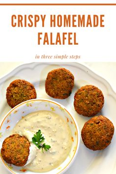 This Easy Homemade Falafel Recipe will help you make Crispy Falafel in Three simple steps. Complete Written Falafel Recipe for making CRISPY HOMEMADE FALAFEL with step by step video Greek Recipes, Indian Food Recipes, Whole Food Recipes, Vegetarian Recipes, Dinner Recipes, Cooking Recipes, Healthy Recipes, Healthy Veg Recipes, Healthy Food