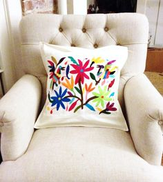 Otomi Mexican Hand Embroidery