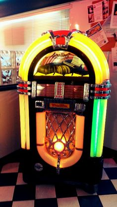 JukeBox At this 60s themed restraunt. :)