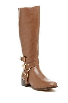 HauteLook | Mad About Shoes: Cilenia Buckle Strap Tall Boot