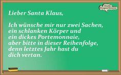 Lieber Santa Klaus