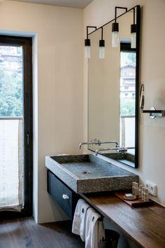 Hotel Review Wiesergut, Saalbach Hinterglemm. Dream BathroomsHotel  ReviewsPassportCorner VanityBathroom ...