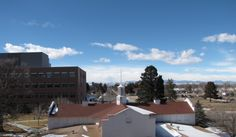 West view from the Reading Room — It was a gorgeous February day, fitting for the event #CUHSLibrary #CUAnschutz #CUDenver