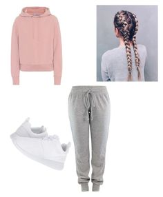 """FRIDAY"" by haileymagana on Polyvore featuring Vince and NIKE"