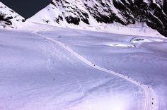 Caminhando na Geleira Aletsch - Viagem com Sabor