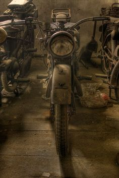 Abandoned Motorcycle