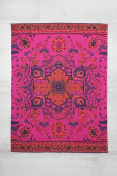 Magical Thinking Overdyed Rug- could be a fun pop of color for office space??