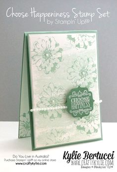 Stampin' Up! Australia: Kylie Bertucci Independent Demonstrator: Oh My! Another Global Design Project Card!