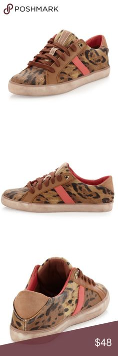 Sam Edelman Hanson Sneakers Super cute pair of Sam Edelman sneakers in leopard print. Perfect this spring! In excellent pre-worn condition. No flaws. No trades! Sam Edelman Shoes Sneakers