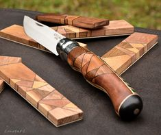 Photo: Opinel custom n°117 http://opinel-passions-bois.blogspot.fr/