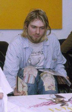 Kurt at work
